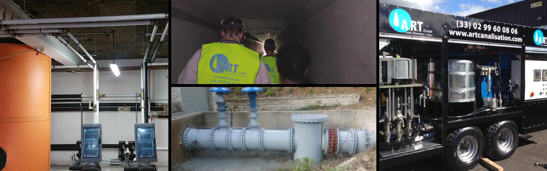 Protection anticorrosion extérieure de pièces ou de conduites, plomberie sanitaire