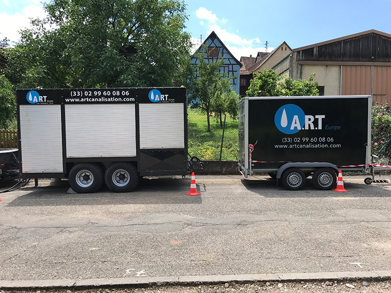 Since 2006, ART Europe is specialised in the pipe lining works for drinking water pipes, in France and internationally. Call on our services